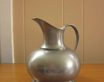 Small pewter pitcher