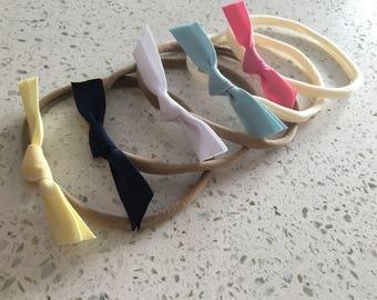 Cotton elastic band loop