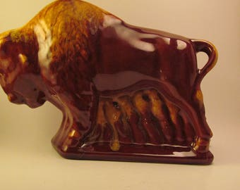 Blue Mountian Pottery Buffalo