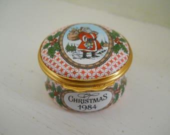 Halcyon Days Christmas Box 1984