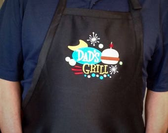 Dad's retro BBQ Apron