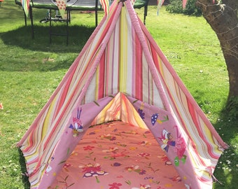 Children's Canvas Teepee - Fairy
