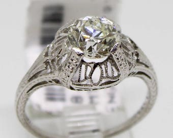 art deco engagement ring - Art Deco Wedding Rings