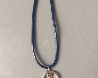 Yoga Baum darstellen Halskette