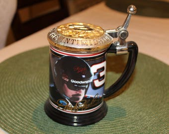 Dale Earnhardt-the intimidator#3//colector tankard by Franklin mint