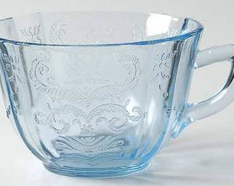 Cup in Madrid Blue by Federal Glass