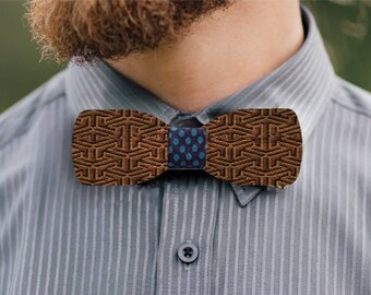 Ben Nevis wooden bow tie