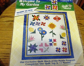 Jo-Anns Welcome To My Garden Block a Month Club Month Four Primrose! FREE SHIPPING