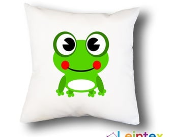 Pillowcase 40x40 pillow frog No22