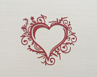 Fancy Heart Die Cuts