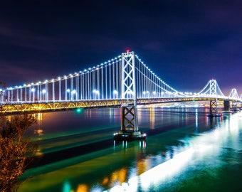 San Francisco Bay Bridge Long Exposure