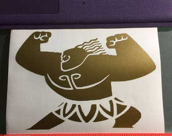 Mini Maui Vinyl Decal