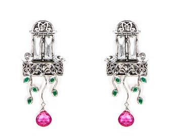 European Balcony Earrings