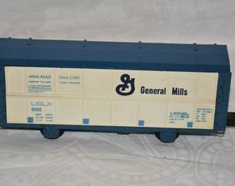 Lionel Electric Trains Vintage Mini Max 9090 Freight Car-General Mills Circa-1971