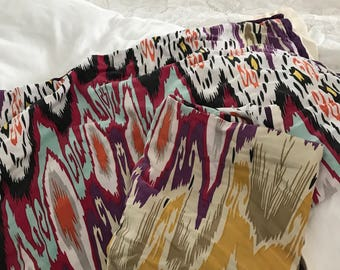Anthropologie ikat printed bed/throw pillow covers