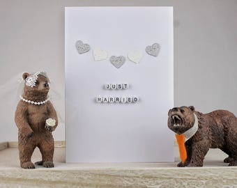 Just Married - Wedding Card