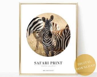 safari print, wall art, zebra print, zebra decor, printable art, modern art, zebra wall art, zebra poster, african print, home decor