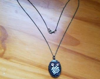 Bronze Owl Locket