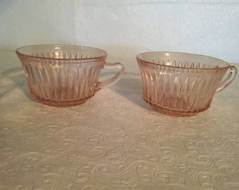Vintage  Queen Mary pink replacement  cup,