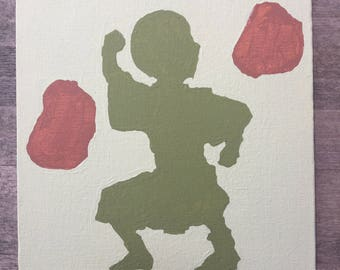 Toph Silhouette