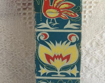 Vintage Fire Place and Barbecue Safety Matches Retro