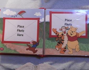 Ready-made Pooh Scrapbook Photo Album - just add photos
