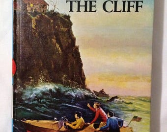 Children's Vintage Chapter Book - The Hardy Boys - The House on the Cliff