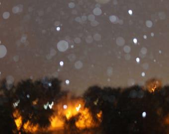 Drops of rain photography