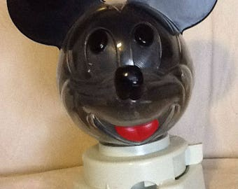 Vintage Micky Mouse Gumball Machine 1968 Hasbro