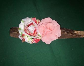 Pink, Rose, Toddler 12month-4t Headband
