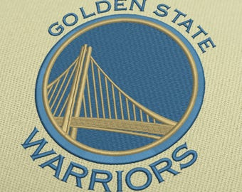 Golden State Warriors Embroidery Design 5 Designs