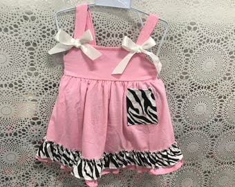 baby summer clothes zebra style