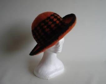 Felted Designer Hat