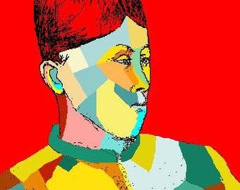 15 Madame Cezanne
