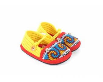 So Ethnic Baby Mules Shoes