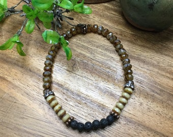 Tiny Essential Oil Stretch Bracelet