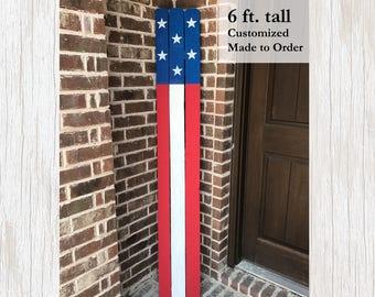 Patriotic Decor, American Flag Sign, Patriotic Home Decor, Fourth of July, American Flag Decor, Patriotic  Wood Sign, Patriotic Wood Decor