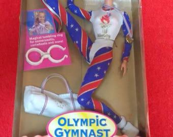 Olympic Gymnist Barbie 1995