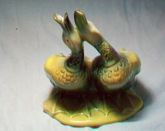 Hull Pottery Happy Ducks Planter