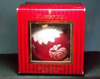 Waterford Holiday Heirloom Christmas Ornament Original Box
