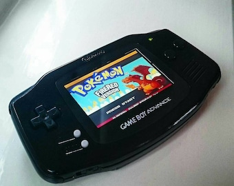 Nintendo Gloss Black AGS101 Backlit Backlight Gameboy Advance GBA