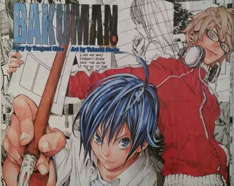 Bakuman Manga Collage 1