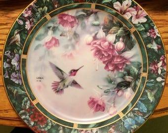 Lena Lui, Anna's Hummingbird Plate
