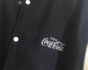 Men's Coca Cola Letterman's Jacket