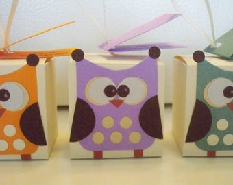 Christening Party Favors Owls
