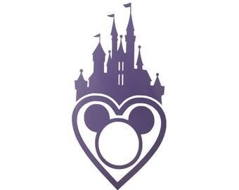 Disney Car Decal - Disney Sticker - Disney Laptop Sticker - WDW Decal