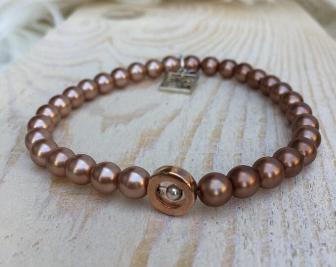 Free shipping within NL bracelet bracelet stone rose gold