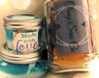Blue Ice : Bubbling Bath Salt
