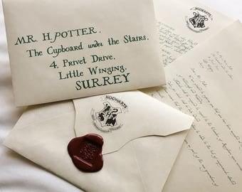 Hogwarts Acceptance Letter (Personalised)