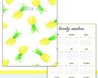 Pineapple 2018-2019 Planner
